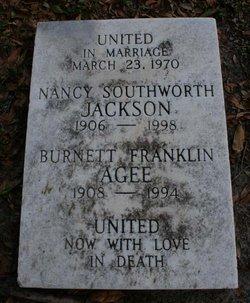 Burnett Franklin Agee