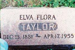 Elva Flora <I>Daughtery</I> Taylor