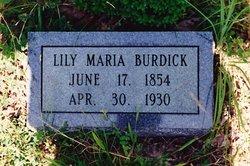 Lily Maria Burdick