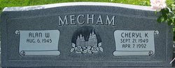 Cheryl <I>Marshall</I> Mecham
