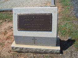 Corinth #2 Baptist Church Cemetery