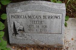 Patricia Jean <I>McCain</I> Burrows