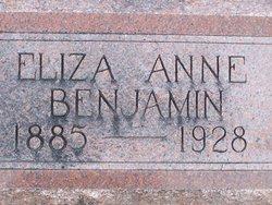 Eliza Anne Benjamin