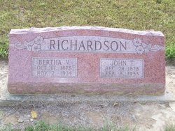Bertha V Richardson