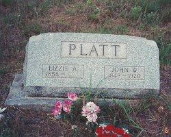 Lizzie A. <I>Tennison</I> Platt