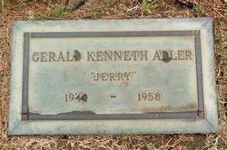"""Gerald Kenneth """"Jerry"""" Adler"""