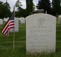 Pvt Andrew G. Anderson