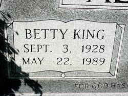 Betty Jo <I>King</I> Alsbrooks