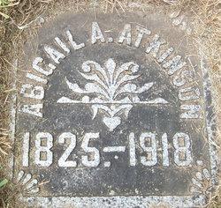 Abigail Ann <I>Sholes</I> Atkinson