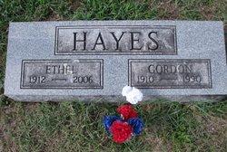 Ethel Mae <I>King</I> Hayes