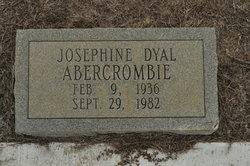 Josephine <I>Dyal</I> Abercrombie