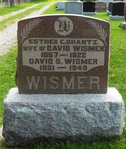 Esther <I>Shantz</I> Wismer