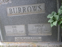 Lois Clara <I>Hatch</I> Burrows