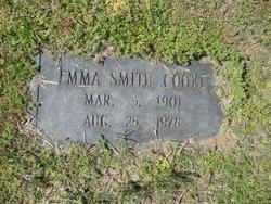 Emma Harvey <I>Smith</I> Cooke