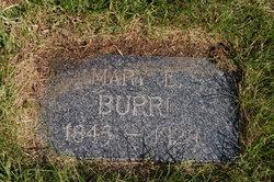 Mary Elizabeth <I>Huddleston</I> Burri