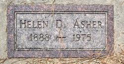 Helen D <I>Douglas</I> Asher
