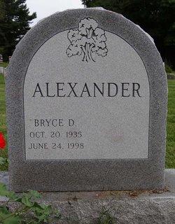 Bryce D Alexander