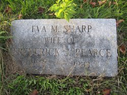 Eva Mabel <I>Sharp</I> Pearce
