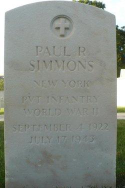 Paul R Simmons