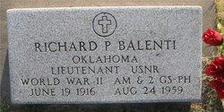 Richard P Balenti