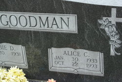 Alice Carolyn <I>Carrington</I> Goodman