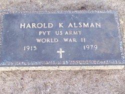 Harold Kenneth Alsman