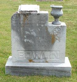 William Pinkney Bowlin