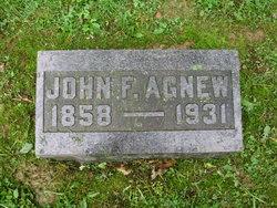 John F Agnew