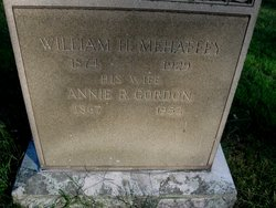 William H Mehaffey