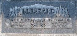 Fred Walker Bleazard