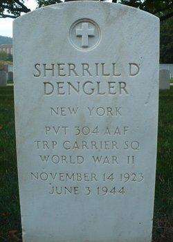 Pvt Sherrill D Dengler