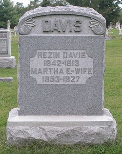 "Martha Ellen ""Mattie"" <I>Buckley</I> Davis"