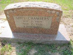 Sybil Annie <I>Gann</I> Chambers