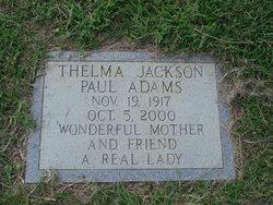 Thelma <I>Jackson</I> Adams