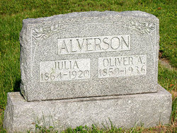 Julia <I>Packard</I> Alverson