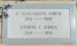 M Francisquita <I>García</I> C de Baca