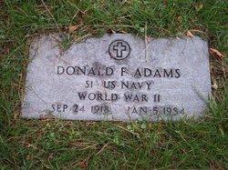 Donald F Adams
