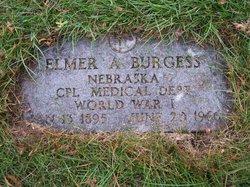 Corp Elmer A Burgess