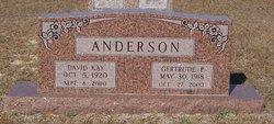 Gertrude <I>Ponder</I> Anderson