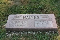 Margaret Elaine <I>Brown</I> Haines