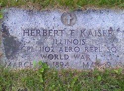 Herbert Frederick Kaiser