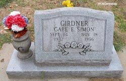 """Gabe E """"Simon"""" Girdner"""