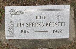Ina <I>Sparks</I> Bassett