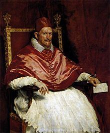 Pope Innocent, X