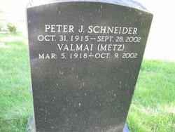 Valmai <I>Metz</I> Schneider