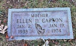 Ellen D Carson