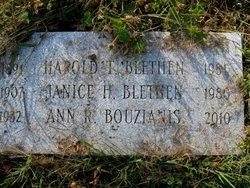 Janice Harriet <I>Whittier</I> Blethen