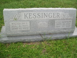 Cleo <I>Renfrow</I> Kessinger