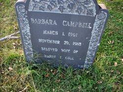 Barbara <I>Campbell</I> Cole