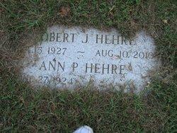Ann Sargent <I>Parsons</I> Hehre